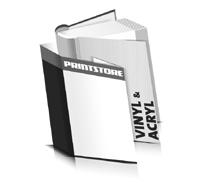Hardcover Buch Acryl Buchdeckel Vinyl Buchdeckel runder Buchrücken Fadenheftungen Hardcover im Hochformat