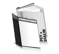 Bücher drucken Efalin Buchüberzug Pey Buchüberzug bedruckter Vorsatz & Nachsatz runder Buchrücken Fadenheftung Buchdruck im Hochformat