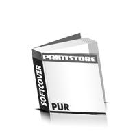 Abizeitungen drucken PUR-Klebebindung Softcover