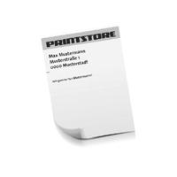 Digitaldruck Briefpapiere Beidseitige Digitaldruck Briefpapiere Einseitige Personalisierung Schwarz