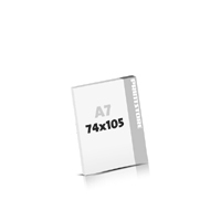 Seminarblöcke bedrucken Seminarblöcke  A7 (74x105mm)