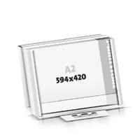 Íróasztali alátét  A2 (594x420mm) Védõpántok Faltkartonverpackung