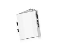 Digitaldruck Broschüren drucken Rückenstichheftungen  2 Klammern Hochformate
