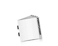 Digitaldruck Prospekte Rückendrahtheftungen  2 Heft-Klammern Quadratformate