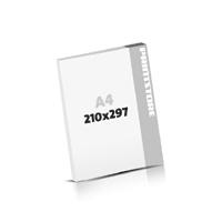 Digitaldruck Blöcke drucken  A4 (210x297mm)