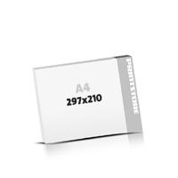 Digitaldruck Blöcke drucken  A4  quer (297x210mm)