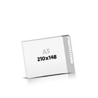 Digitaldruck Seminarblöcke  A5  quer (210x148mm)