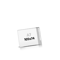 Digitaldruck Blöcke drucken  A7  quer (105x74mm)