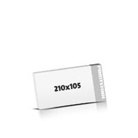 Digitaldruck Blöcke drucken  DIN Lang  quer (210x105mm)