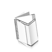 Preislisten drucken  1 PVC Titel-Blatt und  1 PVC End-Blatt Deck-Blatt  4 Seiten Schluss-Blatt  2 Seiten Preislisten mit Wire-O Bindung Drahtkamm links Quadratformat