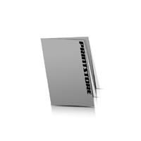 Neon-Faltplakat Einseitiger Plakatdruck Schwarz