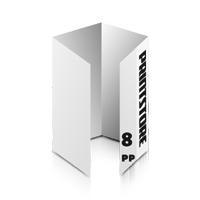 Falzflyer bedrucken Falzflyer bedrucken & perforieren  8-seitige Falzflyer  3-Bruch Fenster-Falz (geschlossen)  1-6 färbige Falzflyer Euroskala, HKS-Volltonfarben oder Pantone-Volltonfarben beidseitig bedruckte Falzflyer