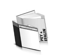 Bücher drucken Efalin Buchüberzug Pey Buchüberzug gerader Buchrücken Fadenheftung Buchdruck im Quadratformat