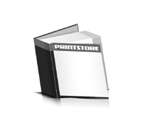 Bücher drucken Papier Buchüberzug bedruckter Vorsatz & Nachsatz gerader Buchrücken Fadenheftung Buchdruck im Quadratformat