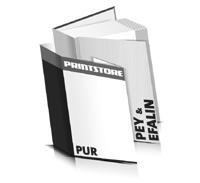 Bücher drucken Efalin Buchüberzug Pey Buchüberzug gerader Buchrücken PUR-Klebebindung Buchdruck im Hochformat
