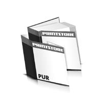 Hardcover Buch Schutzumschlag Papier Buchdeckel gerader Buchrücken PUR-Klebebindungen Hardcover im Quadratformat