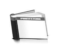 Bücher drucken Papier Buchüberzug bedruckter Vorsatz & Nachsatz runder Buchrücken Fadenheftung Buchdruck im Querformat