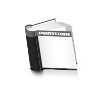 Hardcover Bücher drucken Papier Deckeleinband runder Buchrücken Fadenheftung Buchdruck im Quadratformat