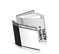 Hardcover Bücher bedrucken Acryl Buchüberzug Vinyl Buchüberzug bedruckter Vorsatz & Nachsatz gerader Buchrücken Fadenheftung Buchdruck im Quadratformat