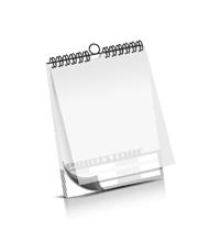 Kalender drucken PVC-Frontblatt OHNE Kalenderdeckblatt Kalenderblätter beidseitiger Druck Drahtkammbindungen Kalender Druck im Hochformat