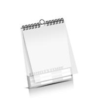 Kalender drucken PVC-Frontblatt OHNE Kalenderdeckblatt Kalenderblätter einseitiger Druck Drahtkammbindungen Kalender Druck im Hochformat