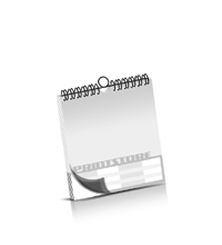 Kalender drucken OHNE Kalenderdeckblatt Kalenderblätter beidseitiger Druck Drahtkammbindungen Kalender Druck im Quadratformat