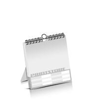 Kombikalender drucken Produktion im Digitaldruck Kalenderblätter einseitiger Druck