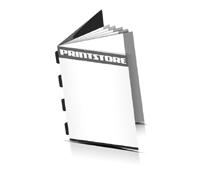 Broschüren drucken  6 Seiten Umschlag Rückendrahtheftung  4 Heftklammern