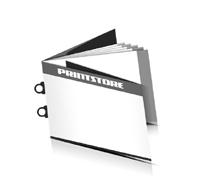 Preislisten drucken  8 Seiten Umschlag Ringösenheftung  2 Ringösen Querformat