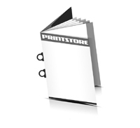 Magazin  6 Seiten Umschlag (1 Ausklappseite) Omegadrahtheftungen  2 Omegaklammern Hochformate