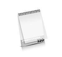 Imagebroschüren drucken  16 Seiten bis  320 Seiten Imagebroschüren mit Drahtkammbindung PVC-Frontblatt oder PVC-Endblatt (1 Blatt PVC) Drahtkamm oben Hochformat