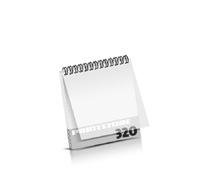 Imagebroschüren drucken  16 Seiten bis  320 Seiten Imagebroschüren mit Drahtkammbindung PVC-Frontblatt oder PVC-Endblatt (1 Blatt PVC) Drahtkamm oben Quadratformat