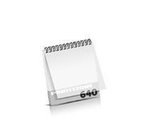 Imagebroschüren drucken  324 Seiten bis  640 Seiten Imagebroschüren mit Drahtkammbindung PVC-Frontblatt oder PVC-Endblatt (1 Blatt PVC) Drahtkamm oben Quadratformat