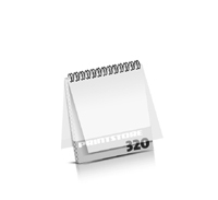 Imagebroschüren drucken  16 Seiten bis  320 Seiten Imagebroschüren mit Drahtkammbindung PVC-Frontblatt und PVC-Endblatt (2 Blätter PVC) Drahtkamm oben Quadratformat