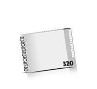 Prospekte bedrucken  16 Seiten bis  320 Seiten Prospekte mit Wire-O Bindung Draht-Kamm links Querformat