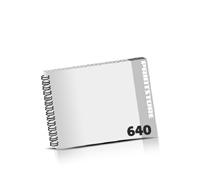 Prospekte bedrucken  324 Seiten bis  640 Seiten Prospekte mit Wire-O Bindung Draht-Kamm links Querformat