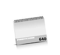 Broschüren drucken  324 Seiten bis  640 Seiten Broschüren mit Wire-O Bindung Drahtkamm oben Querformat