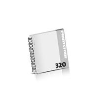 Broschüren drucken  16 Seiten bis  320 Seiten Broschüren mit Wire-O Bindung Drahtkamm links Quadratformat