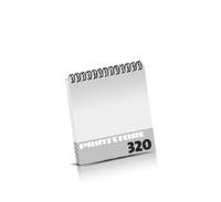 Prospekte bedrucken  16 Seiten bis  320 Seiten Prospekte mit Wire-O Bindung Draht-Kamm oben Quadratformat