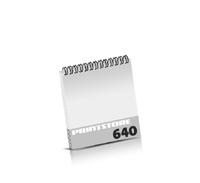 Broschüren drucken  324 Seiten bis  640 Seiten Broschüren mit Wire-O Bindung Drahtkamm oben Quadratformat