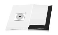 Angebotsmappen drucken stanzen & falten CD-ROM Papier-Taschen Einseitige Angebotsmappen geschlossen A4 Überformat