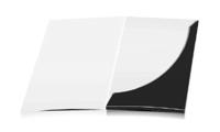 Mappen stanzen, kleben & falten Einseitiger Druck geschlossen A4 Überformat