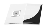 Mappen stanzen, kleben & falten CD-ROM Papier-Taschen Einseitiger Druck geschlossen A4 Überformat