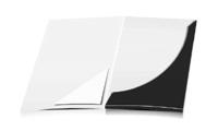 Mappen stanzen, kleben & falten Dreiecks-Taschen Einseitiger Druck geschlossen A4 Überformat