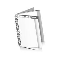 Preislisten drucken  1 PVC Titel- oder End-Blatt Deck-Blatt  2 Seiten Schluss-Blatt  2 Seiten Preislisten mit Wire-O Bindung Drahtkamm links Hochformat
