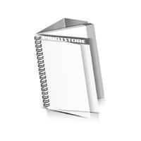 Preislisten drucken  1 PVC Titel- oder End-Blatt Deck-Blatt  2 Seiten Schluss-Blatt  4 Seiten Preislisten mit Wire-O Bindung Drahtkamm links Hochformat