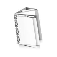Preislisten drucken  1 PVC Titel- oder End-Blatt Deck-Blatt  2 Seiten Schluss-Blatt  6 Seiten Preislisten mit Wire-O Bindung Drahtkamm links Hochformat