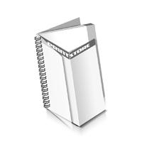 Preislisten drucken  1 PVC Titel- oder End-Blatt Deck-Blatt  4 Seiten Schluss-Blatt  2 Seiten Preislisten mit Wire-O Bindung Drahtkamm links Hochformat
