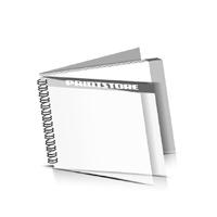Preislisten drucken  1 PVC Titel- oder End-Blatt Deck-Blatt  2 Seiten Schluss-Blatt  2 Seiten Preislisten mit Wire-O Bindung Drahtkamm links Querformat