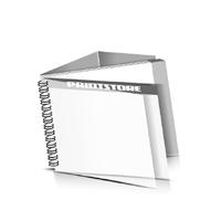 Preislisten drucken  1 PVC Titel- oder End-Blatt Deck-Blatt  2 Seiten Schluss-Blatt  4 Seiten Preislisten mit Wire-O Bindung Drahtkamm links Querformat